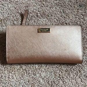 Kate Spade champagne wallet
